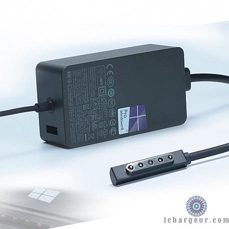 Surface Pro 1 Pro 2 Surface RT 1536 48W Adaptateur Adapter Ladegerät